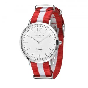 Madison New York Avenue Red / White Small
