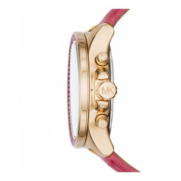 Michael Kors Wren Fuchsia Crystal Pave Chronograph