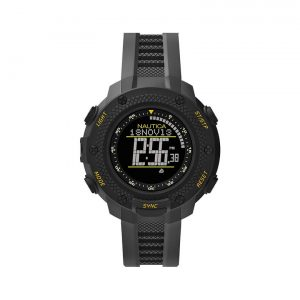 Nautica NMX 15 Black Digital Dial BlackYellow