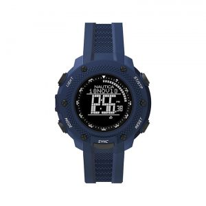 Nautica NMX 15 Black Digital Dial Blue