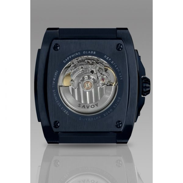 Savoy Midway S3 - Automatic - Limited Edition to 150 - Swiss Made 41mm Blue PVD
