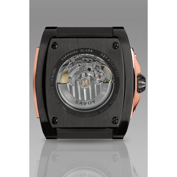 Savoy Midway S3 - Automatic - Swiss Made 41mm Gun IP and Rose Gold
