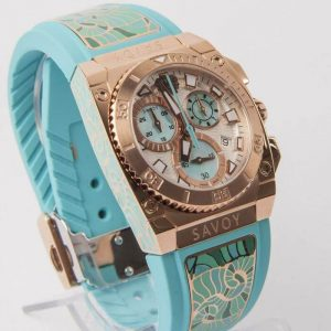Savoy Icon Light Chrono Turchese