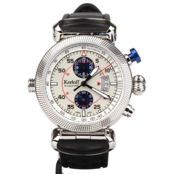 Korloff Reversible Watch Slocum GMT and Chronograph AV8Q/Q